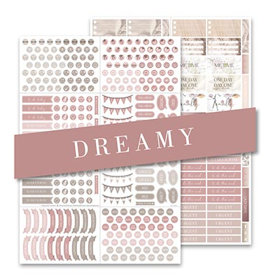 Stickers Dreamy Set of 2